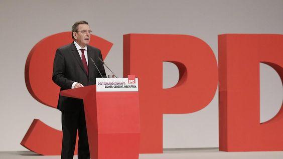 """""""Das finde ich richtig"""": Schröder lobt Trumps Wirtschaftspläne"""