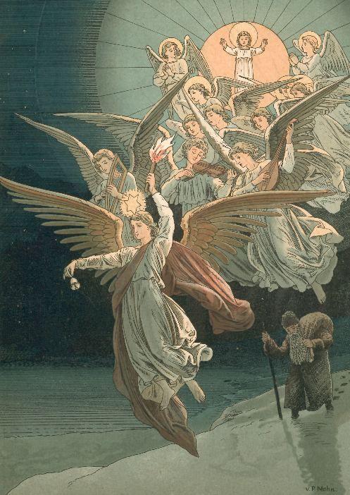 Christmas Storybook 1889 Christmas Images Weihnachtsbilder   ... zum christkind ein weihnachts märchenbuch 1889 weihnachtsbilder und