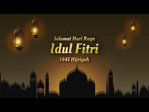 Video Ucapan Selamat Idul Fitri 2020 1441 Hijriyah Kode 21 Eid Mubarak Motion Graphics Youtube Background Movie Posters Neon Signs