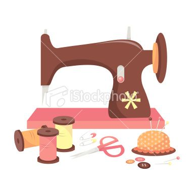 Image result for sewing machine cartoon pictures