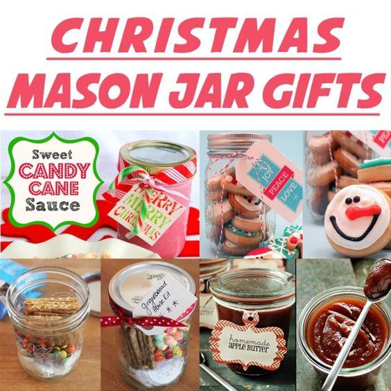 Jarred Christmas Gifts: 5 Colorful Handmade Mason Jar Christmas Gift Ideas 2015