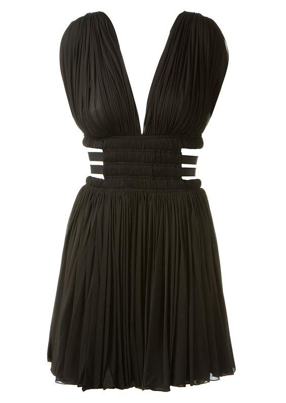 Azzedine Alaïa Dresses :: Azzedine Alaïa pleated scoop neck dress | Montaigne Market