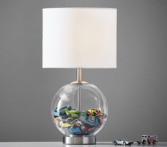 Acrylic Collectors Lamp Kids Lamps Pottery Barn Kids Lamp
