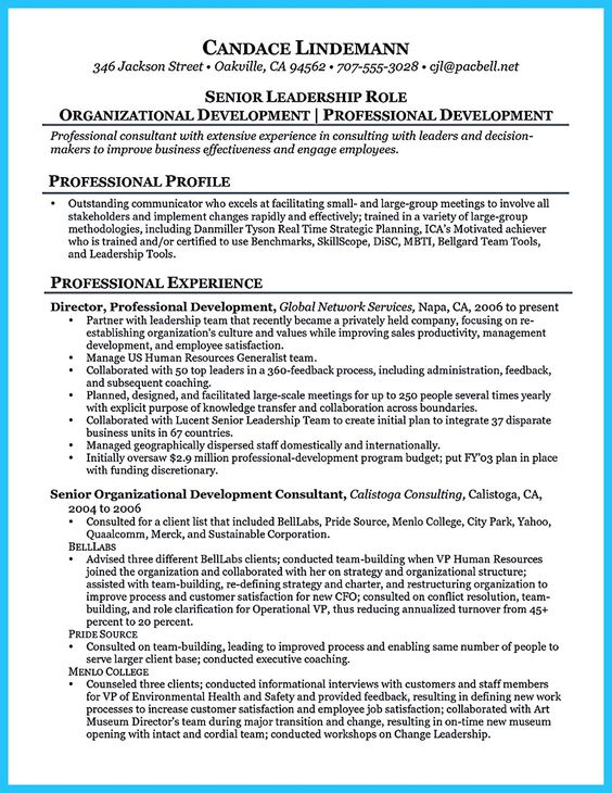 job and resume template - Business Consultant Resume