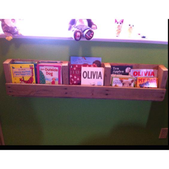 Olivia's bookshelf