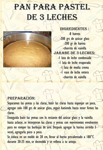 Crema Pastelera De Chocolate Un Relleno Exquisito Para Tu Pastel Cakes Mexican Sweet Breads Tres Leches Cake Recipe