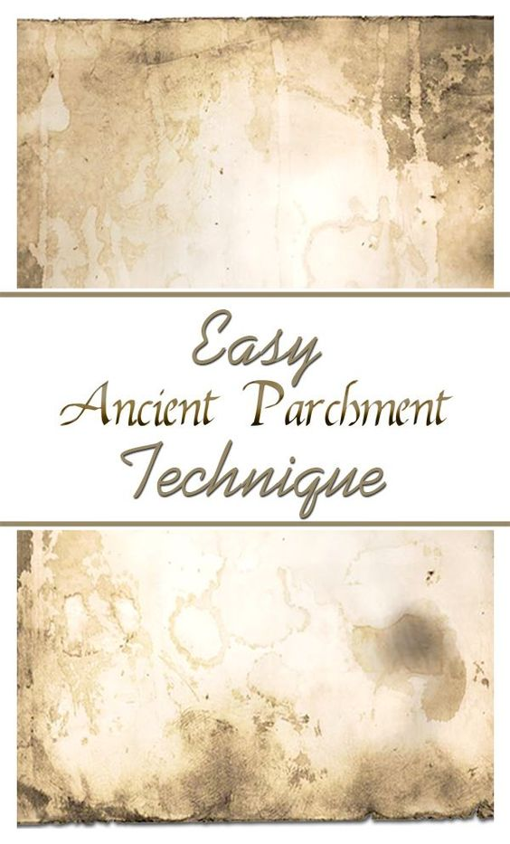Ancient Parchment Technique - Easy! The Graphics Fairy. This is a great technique for aging paper to make it look antique! Perfect for Crafts projects, Art Journaling, Wrapping Paper, Collage and more! Great vintage look!