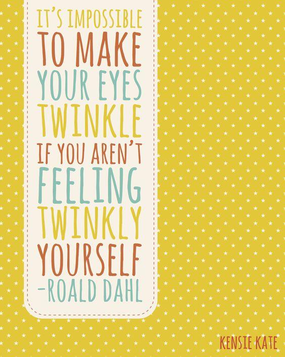 Twinkly. | Roald Dahl