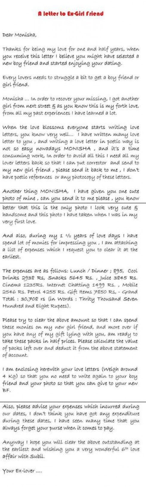 Boyfriend sad break in letter to marathi up How to