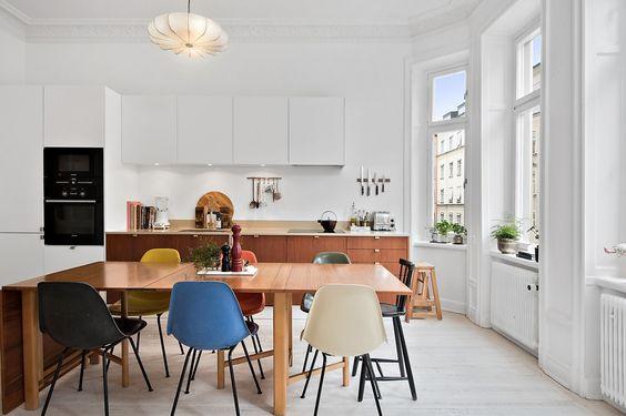 küche weiß/braun