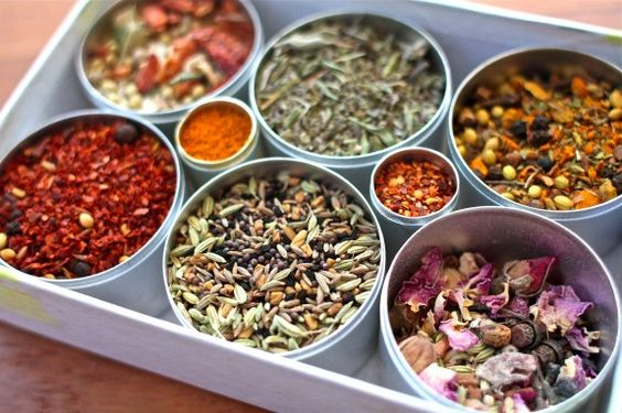 Spice kit from Montreal spice guru, Philippe de Vienne.