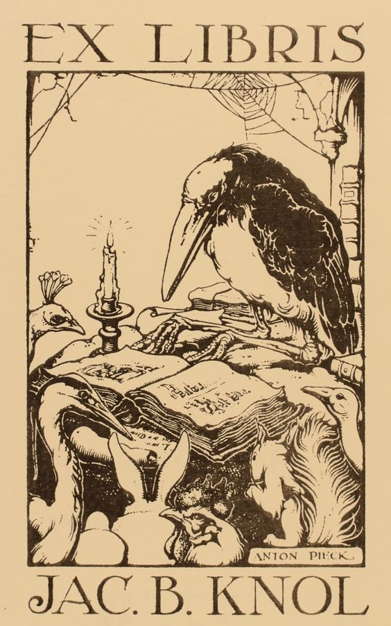 Art-exlibris.net - exlibris by Anton Pieck for Jac. B. Knol
