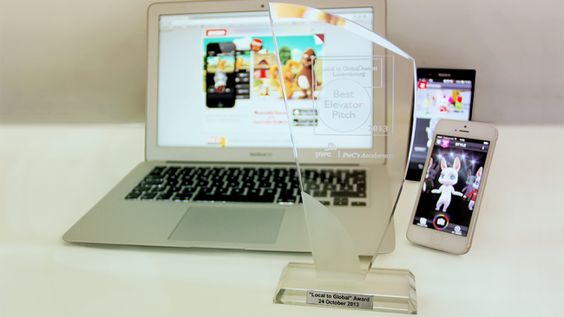 """Zoobe is a winner at PwC's """"Local To Global""""!   Zoobe Blog #wins #award #happy #mobile #app"""