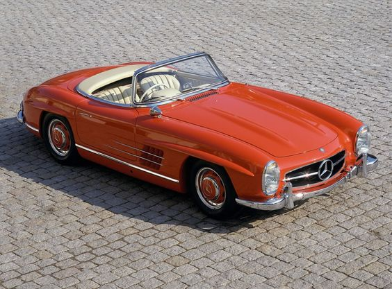 Mercedes-Benz 300 SL Roadster (W 198 II series, 1957 to 1963), 1960