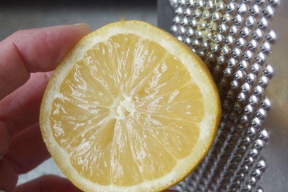 Abrieb von Zitronenschale konservieren