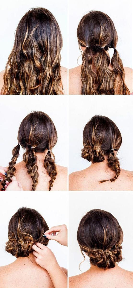 Updo Hairstyles Long Length Haircuts Quick Easy Upstyles 20181226 With Images Quick Braids Hair Hacks Diy Hairstyles Easy