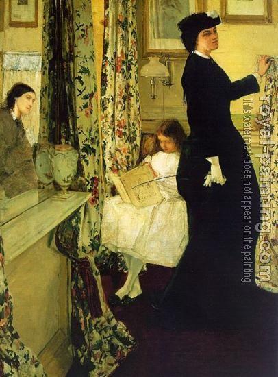 James Whistler, Music room