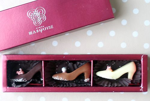 Ginza marquise shoes chocolate box