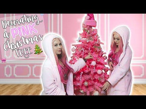 Leah Ashe Youtube Pink Christmas Tree Pink Christmas Pink Girl