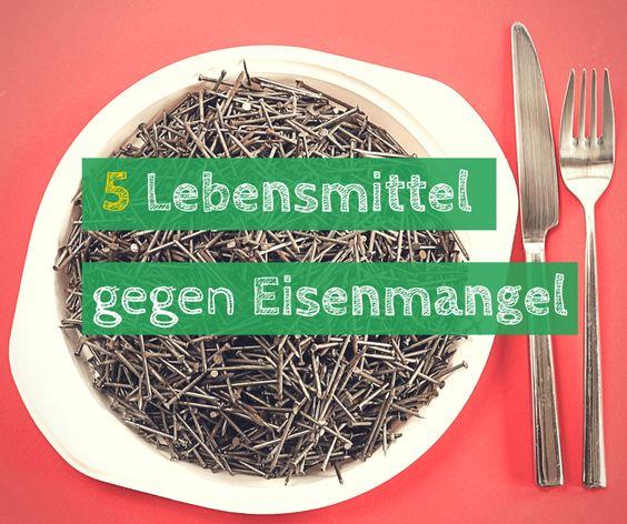 Eisenmangel ist relativ weit verbreitet, aber was sollte man essen bei Eisenmangel. Wir stellten 5 Lebensmittel mit hohem Eisenanteil vor.