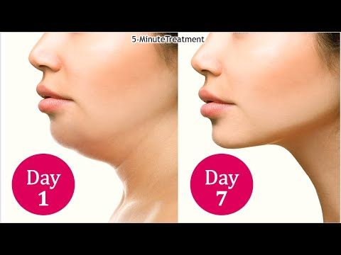 Face yoga exercises video double chin