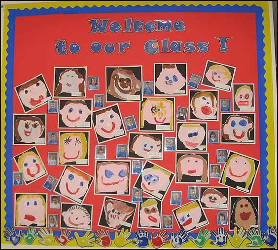 A wall display from the Reception/Year 1 classroom