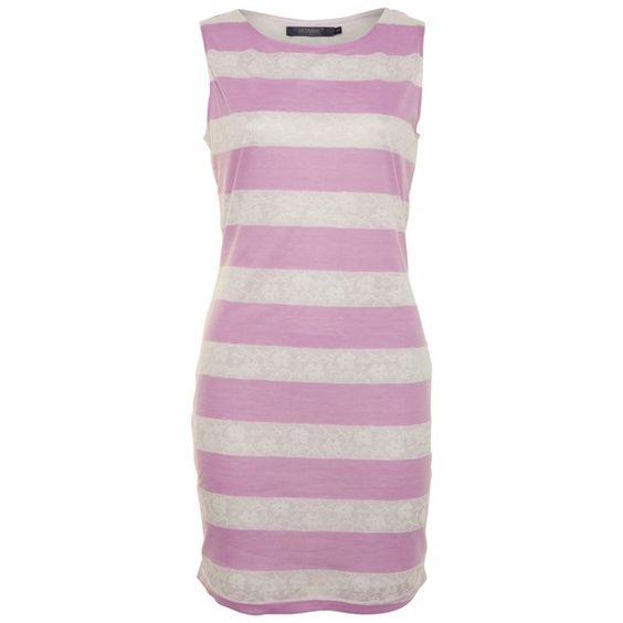 Jasmine Nautical Stripe Fitted Dress ($24) ❤ liked on Polyvore