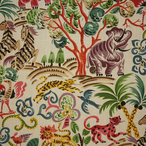 Clarence House Congo In Multi 2 1 Clarence House Clarence Wallpaper Clarence house wallpaper samples