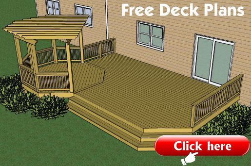 Deck Designs And Plans Decks Com Free Plans Builders Designs Composite Decki 2019 Deck Ideas Decks Backyard Building A Deck Backyard Deck