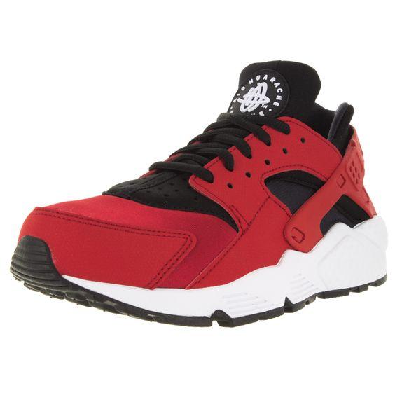 Nike Women's Air Huarache Run University /Black/White Running Shoe