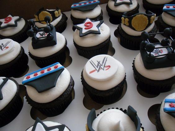 wwe cupcakes