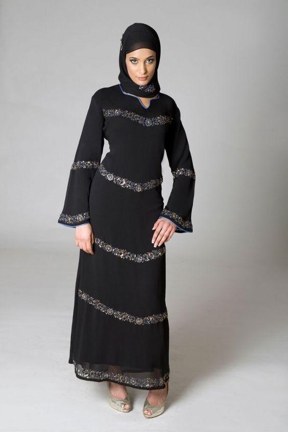 Последни красиви съвременни колекции abaya / hijab 2013, публикувани статии за hijab / abaya.  Описание от bestlateststyle.com.  Търсих това на bing.com/images