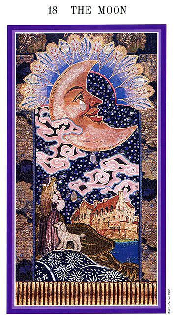 The Moon - Enchanted Tarot (Zerner-Farber Tarot)