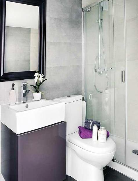 Dibujos de peque os cuartos de ba o cuartos de ba os - Ideas para cuartos de banos pequenos ...