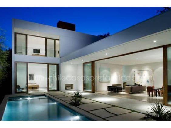 Fotos de casas prefabricadas modernas mediterraneas for Casas prefabricadas modernas