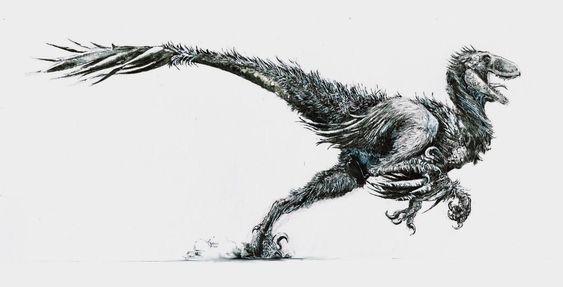 more like a 6-foot turkey by Zombiraptor.deviantart.com on @deviantART