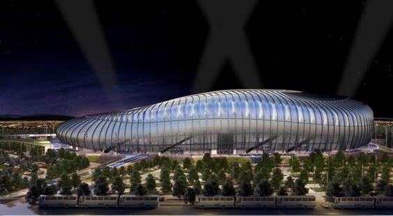 Estadio BBVA Bancomer. Estadio BBVA Bancomer Monterrey se puso a la vanguardia en México con su estadio de primer mundo, mismo que estrenó ante el Benfica de Portugal