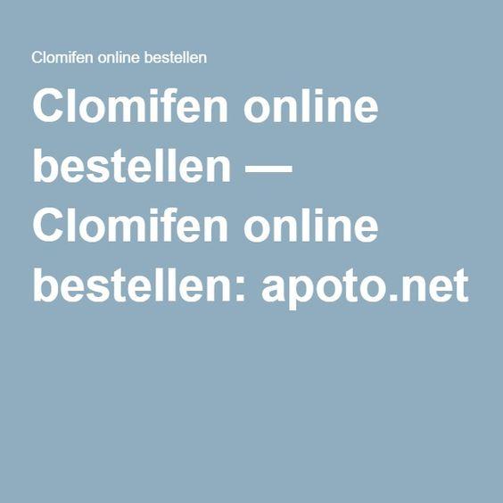 Clomifen online bestellen — Clomifen online bestellen: apoto.net