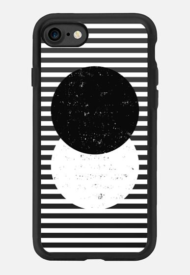 Casetify iPhone 7 Case and Other iPhone Covers - Abstract Circle by I Love Printable | #Casetify #iloveprintable