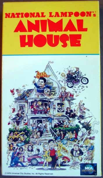 National Lampoon's Animal House VHS