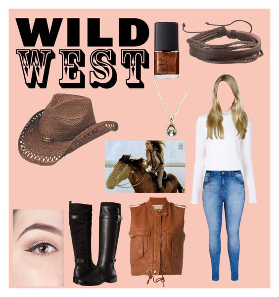 """Wild West"" by emmahills17 ❤ liked on Polyvore featuring Aerosoles, T By Alexander Wang, City Chic, Peter Grimm, Zodaca, Chloé, NARS Cosmetics and Pearls Before Swine"