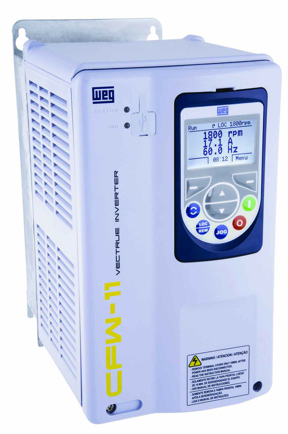 N1 24A 3/60/460V VFD CFW110024T40N1Z, Model: 900WCWM110024T4, Price: $1757.13