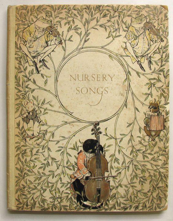 WOODROFFE, Paul illustrator: MOORAT, Joseph., THIRTY OLD-TIME NURSERY SONGS.