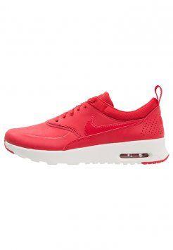 Nike Sportswear - AIR MAX THEA - Sneaker low - university red/sail/white