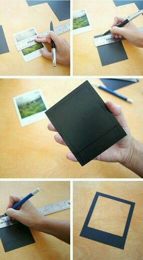 Print any photo as a polaroid free template! Polaroid, Template - polaroid template