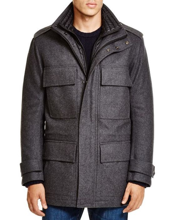 Marc New York Liberty Wool-Blend Jacket