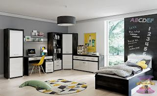 أحدث تصاميم غرف نوم شبابية 2021 غرف نوم شبابيه من ايكيا Home Decor Home Furniture