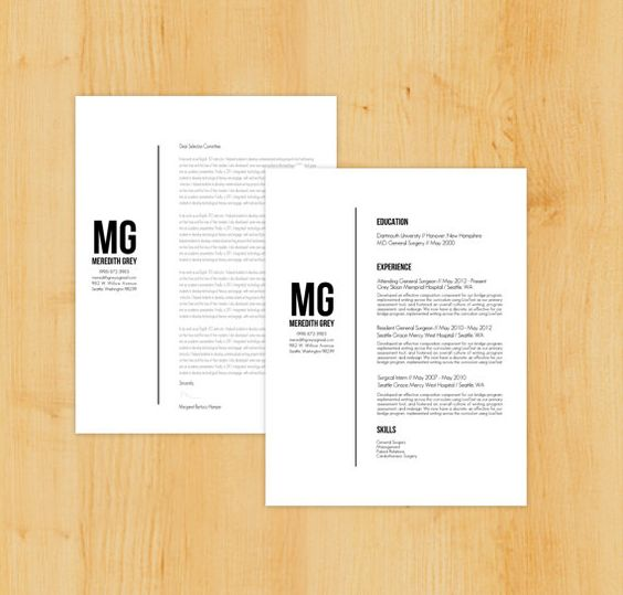 Resume, Cover letters and Cool resumes on Pinterest