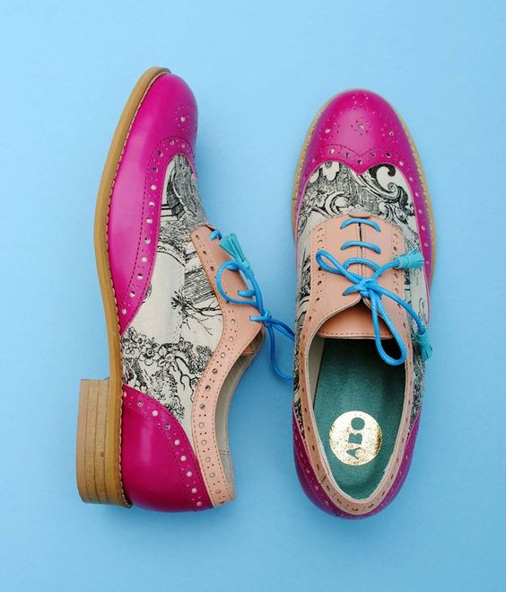 Trendy Printed Shoes