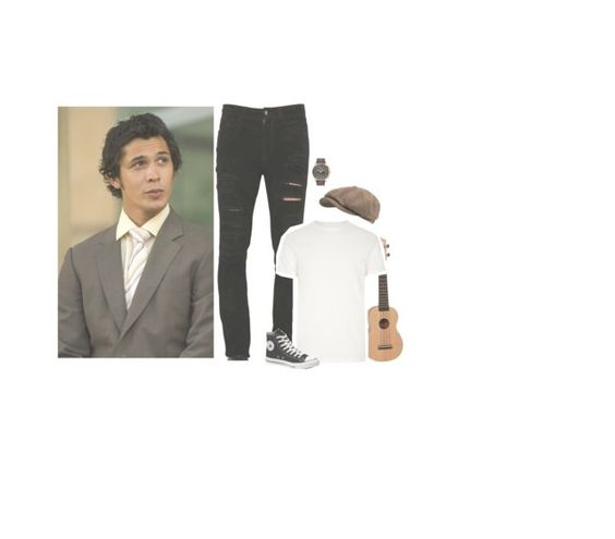"""""""ootd"""" by l0st-demig0ds ❤ liked on Polyvore featuring Morley, Stetson, Giorgio Brato, River Island, Converse and Citizen"""